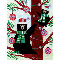 Allport Editions Bear Climbers Boxed Holiday Cards