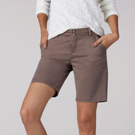 Lee Jeans Women's Straight Fit Tailored Bermuda Short