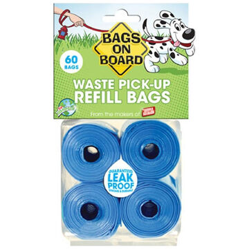 Bags On Board Waste Pick-Up Bag Refill Pack
