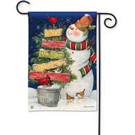 BreezeArt Signs Of Christmas Garden Flag