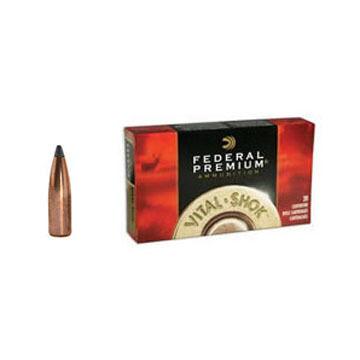 Federal Premium Vital-Shok 375 H&H Magnum 300 Grain Nosler Partition Rifle Ammo (20)