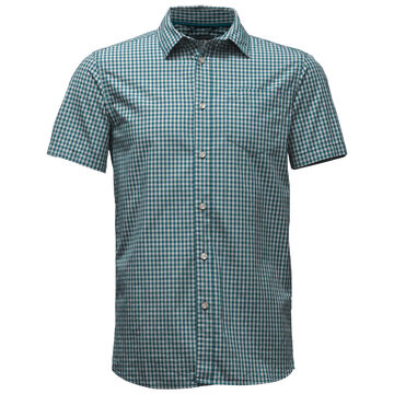 The North Face Mens Shadow Gingham Short-Sleeve Shirt