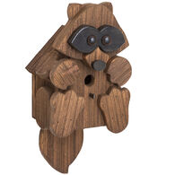 Brookside Woodworks Amish Handcrafted Raccoon Birdhouse