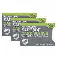 Travelon SafeID RFID Blocking Card Sleeve - 3 Pk.