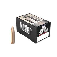 "Nosler Custom Competition 22 Cal. 77 Grain .224"" HPBT Rifle Bullet (100)"