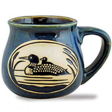 Cape Shore Loon Bean Pot Mug