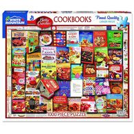 White Mountain Jigsaw Puzzle - Betty Crocker Cookbooks