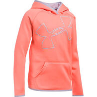 Under Armour Girls' Armour Fleece Jumbo Logo Hoody