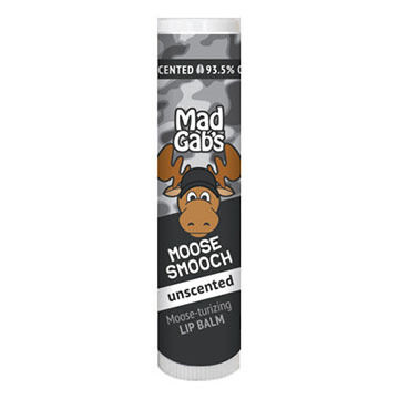 Mad Gab's Unscented Camo Moose Smooch Stick Lip Balm