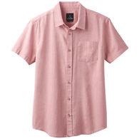 prAna Men's Ecto Chevron Short-Sleeve Shirt