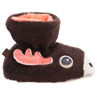 Acorn Infant/Toddler Boys' & Girls' Easy Critter Bootie Slipper