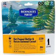 Backpacker's Pantry Peanut Butter & Raisin Oatmeal - 1 Serving