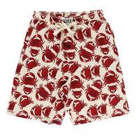 Lazy One Men's Crab Pajama Short