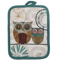 Kay Dee Designs Spice Road Owl Pot Holder