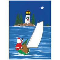 Allport Editions Santa's Sailboat Boxed Holiday Cards