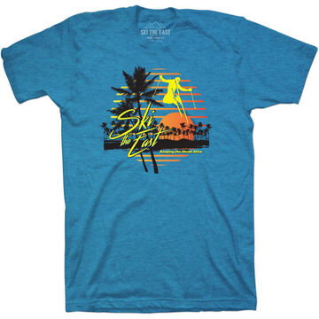 Ski The East Mens Vacation Short-Sleeve T-Shirt