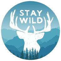 Sticker Cabana Stay Wild Sticker