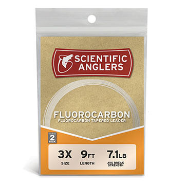 Scientific Anglers Fluorocarbon Leader - 2 Pk.