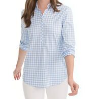 Southern Tide Women's Gameday Intercoastal Hadley Popover Long-Sleeve Shirt