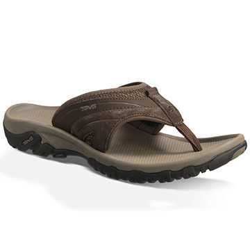 Teva Men's Pajaro Suede Flip Flop Sport Sandal