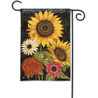 BreezeArt French Flowers Garden Flag
