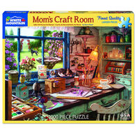 White Mountain Jigsaw Puzzle - Mom's Craft Room
