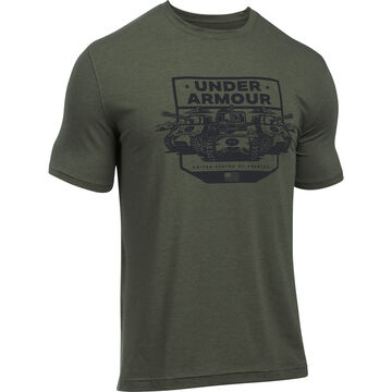 Under Armour Men's UA Freedom by Land Short-Sleeve T-Shirt