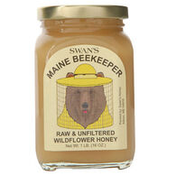 Swan's Maine Beekeeper Raw & Unfiltered Wildflower Honey - 1 lb.