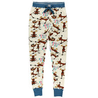 Lazy One Women's Na'moose Stay Legging Pajama Pant