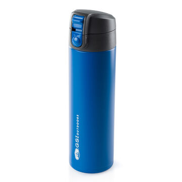 GSI Outdoors Glacier Stainless 17 oz. Microlite 500 Flip-Top Vacuum Insulated Bottle