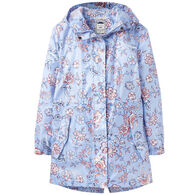 Joules Women's Go Lightly Waterproof Rain Jacket