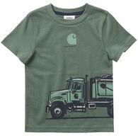Carhartt Toddler Boy's Dump Truck Wrap Short-Sleeve T-Shirt