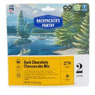 Backpacker's Pantry Dark Chocolate Cheesecake - 2 Servings
