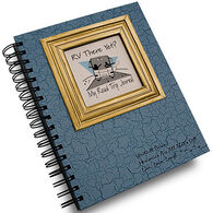 "Journals Unlimited ""Write It Down!"" Light Blue RV Road Trip Journal"