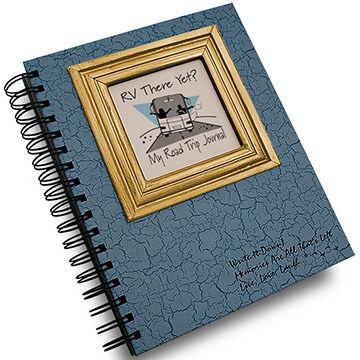 "Journals Unlimited ""Write It Down!"" Light Blue RV Road Trip Journal"