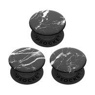 PopSockets PopMinis Black Marble Mobile Device PopGrip Set