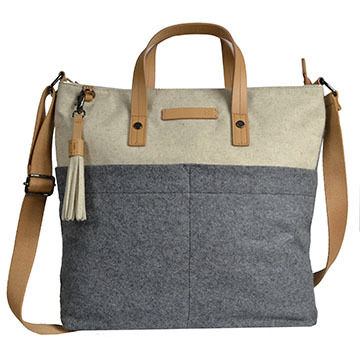 Sherpani Faith Wool Crossbody Tote