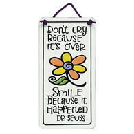 "Spooner Creek ""Don't Cry"" Mini Charmers Tile"