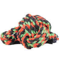 Mammoth Flossy Chews Monkey Fist Ball w/ Rope Ends Dog Toy