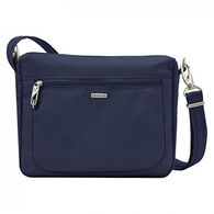 Travelon Anti-Theft Classic Small E/W Crossbody Bag