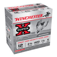 "Winchester Super-X Xpert Hi-Velocity Steel 12 GA 2-3/4"" 1-1/8 oz. #6 Shotshell Ammo (25)"