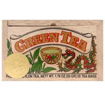 Metropolitan Green Tea Soft Wood Chest, 25-Bag