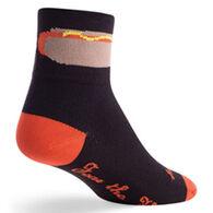 SockGuy Men's Foot Long Bicycling Sock