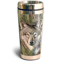 American Expedition Wolf Camo Steel Travel Mug