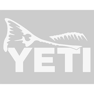 YETI Redfish Window Decal