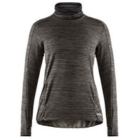 Craft Sportswear Women's Sweep Grid Training Turtleneck Long-Sleeve Top