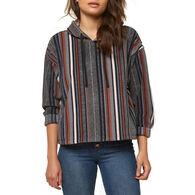 O'Neill Women's Hampton Superfleece Flannel Long-Sleeve Top