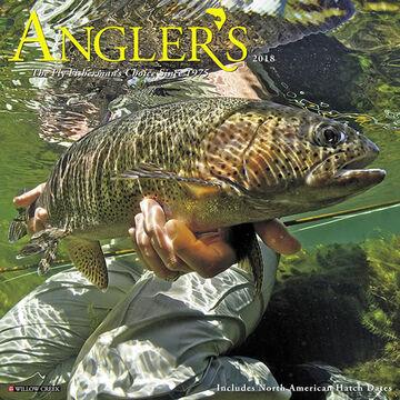 Willow Creek Press Angler's 2018 Wall Calendar