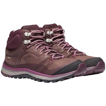 Keen Womens Terradora Leather Waterproof Mid Hiking Boot