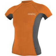 O'Neill Women's Skins Short-Sleeve Crew Shirt